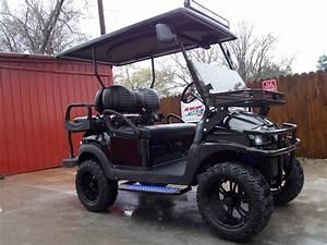 All Black Vampire Edition Phantom 48v Electric Golf Cart