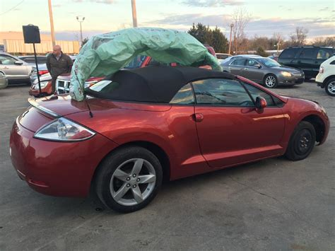 Mitsubishi Eclipse Spyder Gt For Sale by Used Mitsubishi Eclipse Spyder For Sale Cargurus