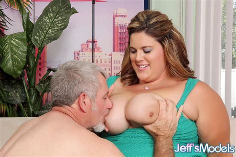 obese female erin green showing off all her fat rolls during hard sex on couch