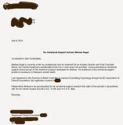 Emotional Support Dog Letter Doctor Sample