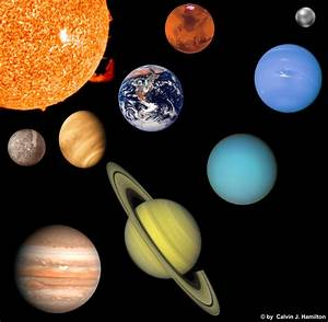 Planets to Scale Print Out - Pics about space