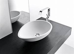 Egg Shape Bathroom Vessel Sink Cristalplant Wash Basin