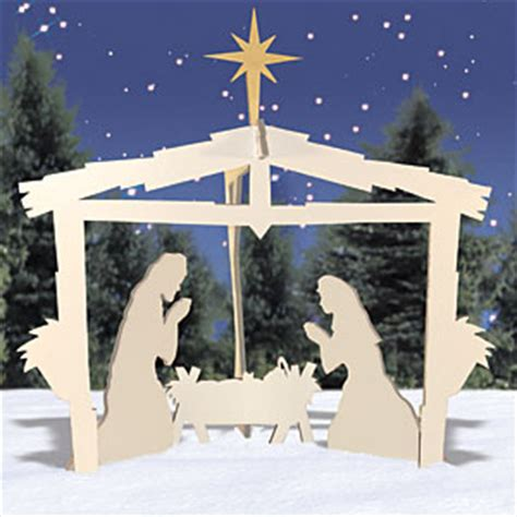 plans  wooden nativity  woodworking