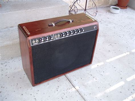 Custom Wood Guitar Speaker Cabinets by Deluxe Reverb Stained 002 Custom Deluxe Reverb Kit In A