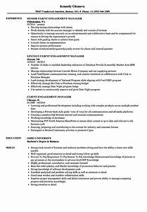 client engagement manager resume samples velvet jobs With employee engagement manager resume