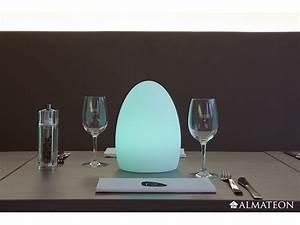 Lampe Sans Fil Deco : lampe led sans fil ovo almateon ~ Teatrodelosmanantiales.com Idées de Décoration