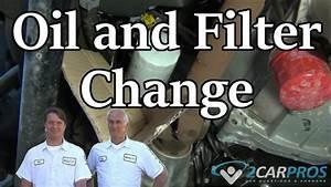 Oil Change  U0026 Filter Replacement Chevrolet Tahoe 2015-present