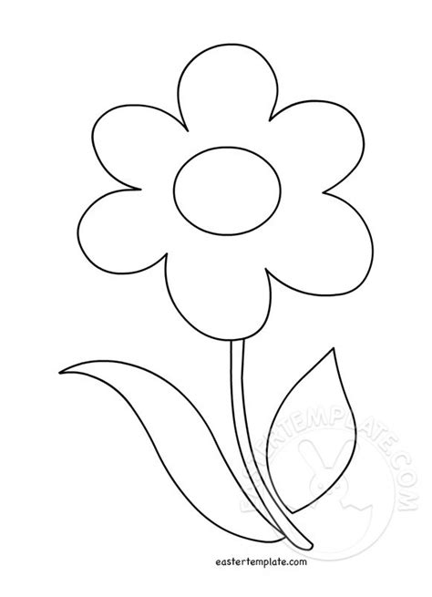 Flower Template The Gallery For Gt Flower Stem Template