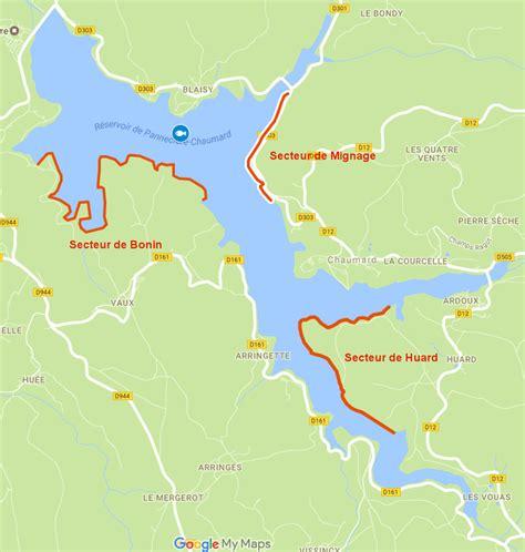 siege peche feeder le lac de pannecière ou réservoir de pannecière chaumard
