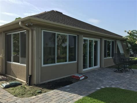 Enclosed Porch Windows by Porch Enclosed With Windows Brevard County Fl
