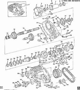 Chevrolet Blazer Pump  Transfer Case  Pumptrfer  Housings