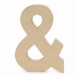 Paper mache letter ampersand symbol 12 x 15 inch jo ann for 1 inch letters