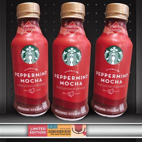 starbucks peppermint mocha  junk food aisle