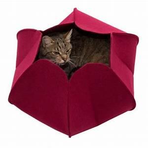 Panier Pour Chat Original : flower niche pour chat zooplus ~ Teatrodelosmanantiales.com Idées de Décoration
