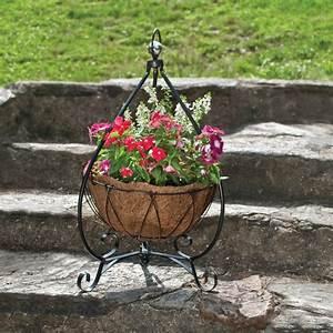 Yorkshire, Decorative, Plant, Stand, With, Aquasav, U2122, Basket