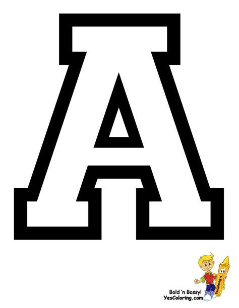 sports college alphabet coloring  alphabets