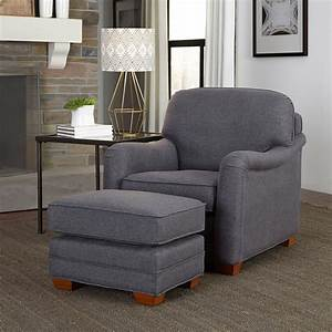 Home, Styles, Magean, Stationary, Club, Chair, With, Optional, Ottoman