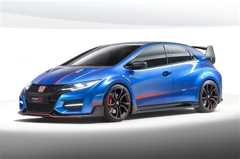 Civic Type R by New Honda Civic Type R Concept Unveiled Gtspirit
