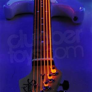 UV Neon Electric Guitar Strings