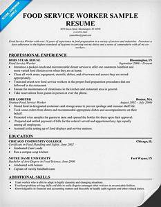 Food service worker resume resume samples across all for Food service worker resume