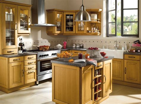 modele de cuisine rustique modèle ilot de cuisine rustique cuisine idées de