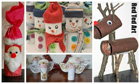 Christmas-crafts-for-preschoolers-tp-roll-ideas Decorative Fireplaces Tv Installation Above Fireplace Real Flame Electric Mantels For Christmas Log Insert Fake Inserts Sale Outdoor Stone Kits Wide