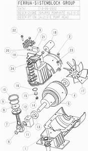 Sip Cosmo  U0026 Hurricane 215  10 1 5hp Compressor Pump Diagram
