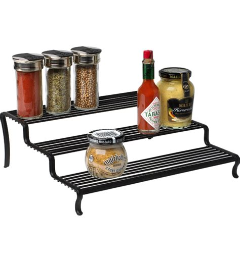 kitchen cabinet shelf risers tiered shelf organizer in shelf risers and organizers