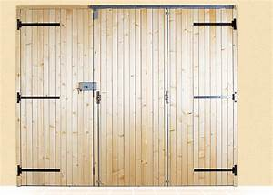 porte de garage en bois a lames verticales centaure With porte de garage accordéon