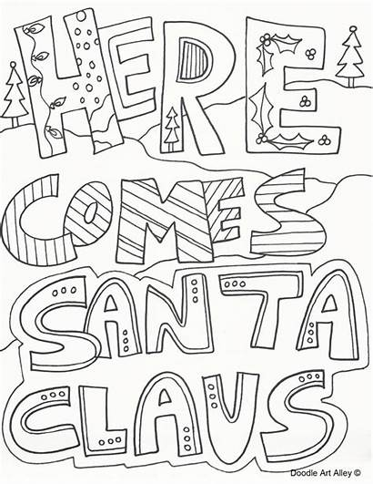Christmas Coloring Colouring Pages Printable Sheets Adult