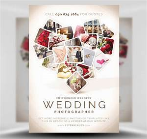 Wedding photographer flyer template flyerheroes for Templates for wedding photographers