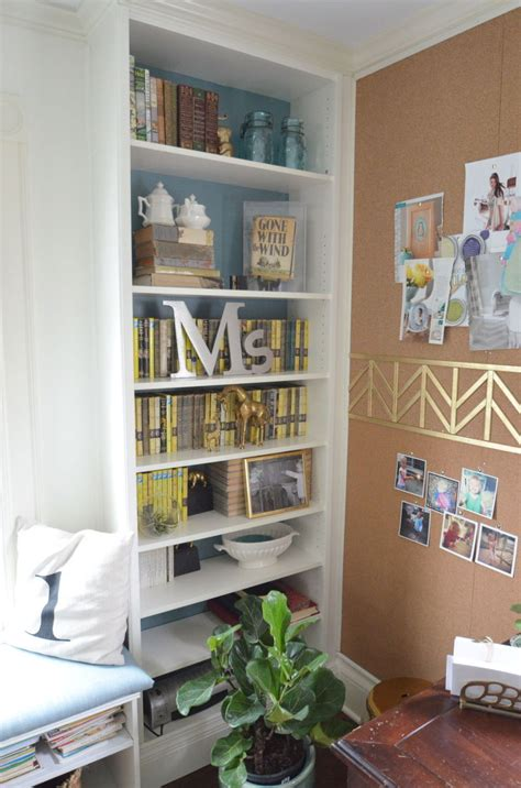 hometalk diyupcycle ikea shelves to builtin billys