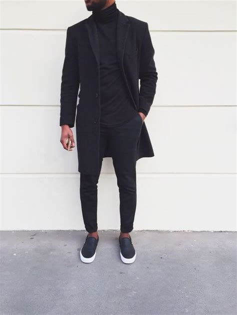 men s fashion guide to wearing all black