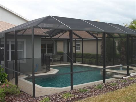 houston texas pool enclosures builder  outdoor pool