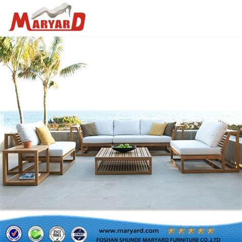 Wholesale Patio Furniture by China Fabric Upholstered Sofa Outdoor Furniture For Hotel
