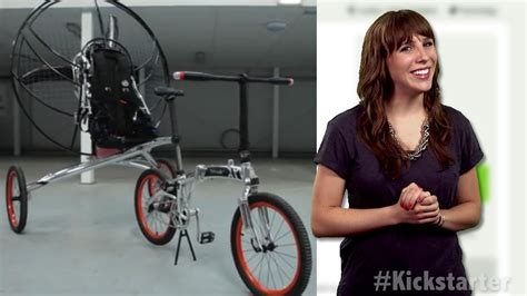Fan Powered Flying Bicycle