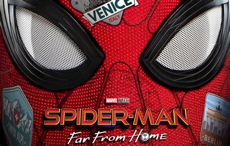 spider man   home trailer poster