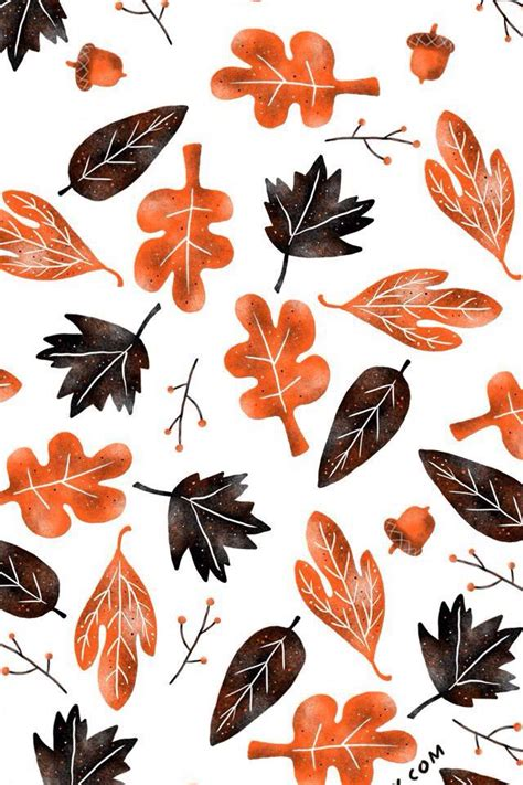 Girly Simple Fall Backgrounds by Iphone Wallpaper Iphone Wallpaper
