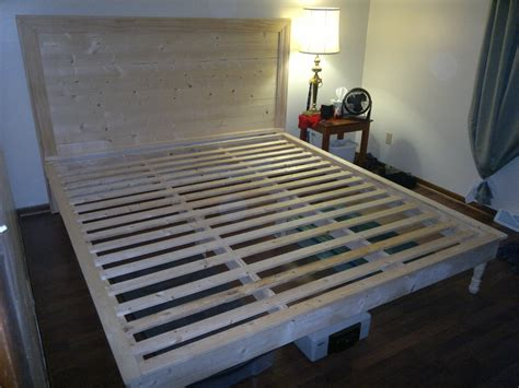 king size platform bed plans king size platform bed plans