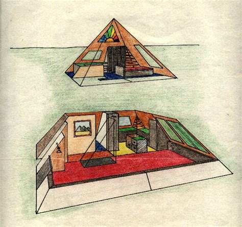 pictures pyramid home plans two story pyramid house