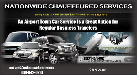 Airport Town Car Service by An Airport Town Car Service Is A Great Option For Regular