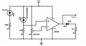 arduino line follower robot With following circuit diagram show two comparator circuits using the lm101