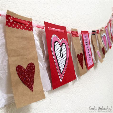 valentine s day decorations mix and match banner bunting