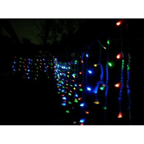 solar powered led icicle lights solar icicle lights 120 led