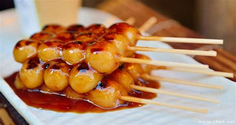 japanese cuisine popular japanese food mitarashi dango and a bit of history