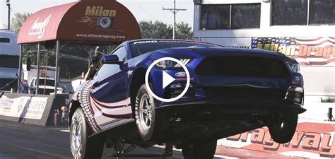 ford cobra jet mustang drag racer  sema