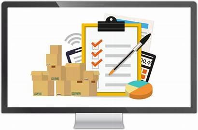 Inventory Management Warehouse Clipart Cartoon Line Clip