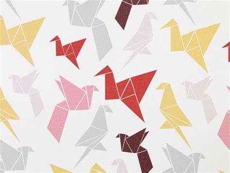 origami wallpaper  dottir sonur handmade charlotte