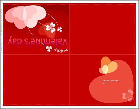 folding card templates microsoft word