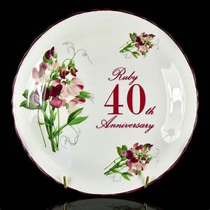 wedding anniversary gifts quirky 40th wedding anniversary With gift for 40 wedding anniversary